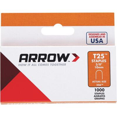 Arrow T25 Round Crown Cable Staple, 3/8 In. (1100-Pack)