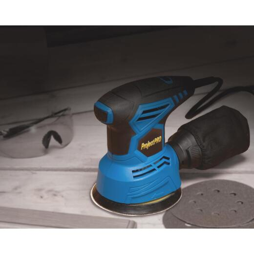Project Pro 5 In. 2A Random Orbit Sander Kit