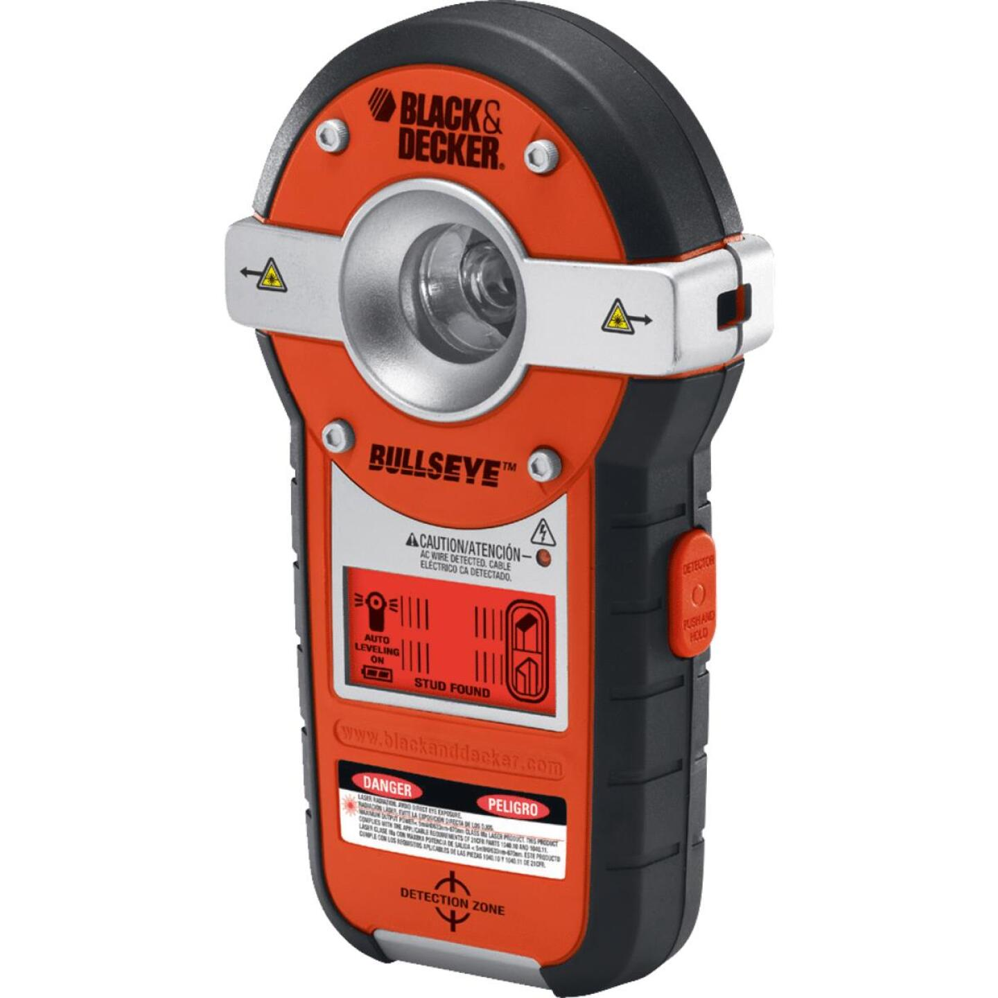 Black & Decker Bullseye 20 Ft. Self-Leveling Line Laser Level with Stud Sensor Image 7