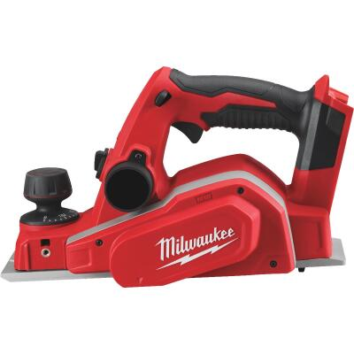 Milwaukee M18 18 Volt Lithium-Ion 3-1/4 In. Cordless Planer (Bare Tool)