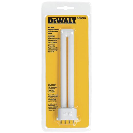 DeWalt 13W Fluorescent Replacement Flashlight Bulb