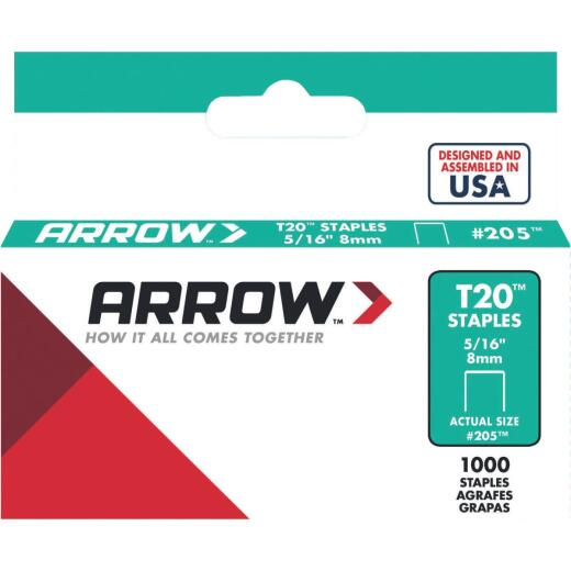 Arrow T20 Staple, 5/16 In. (1000-Pack)