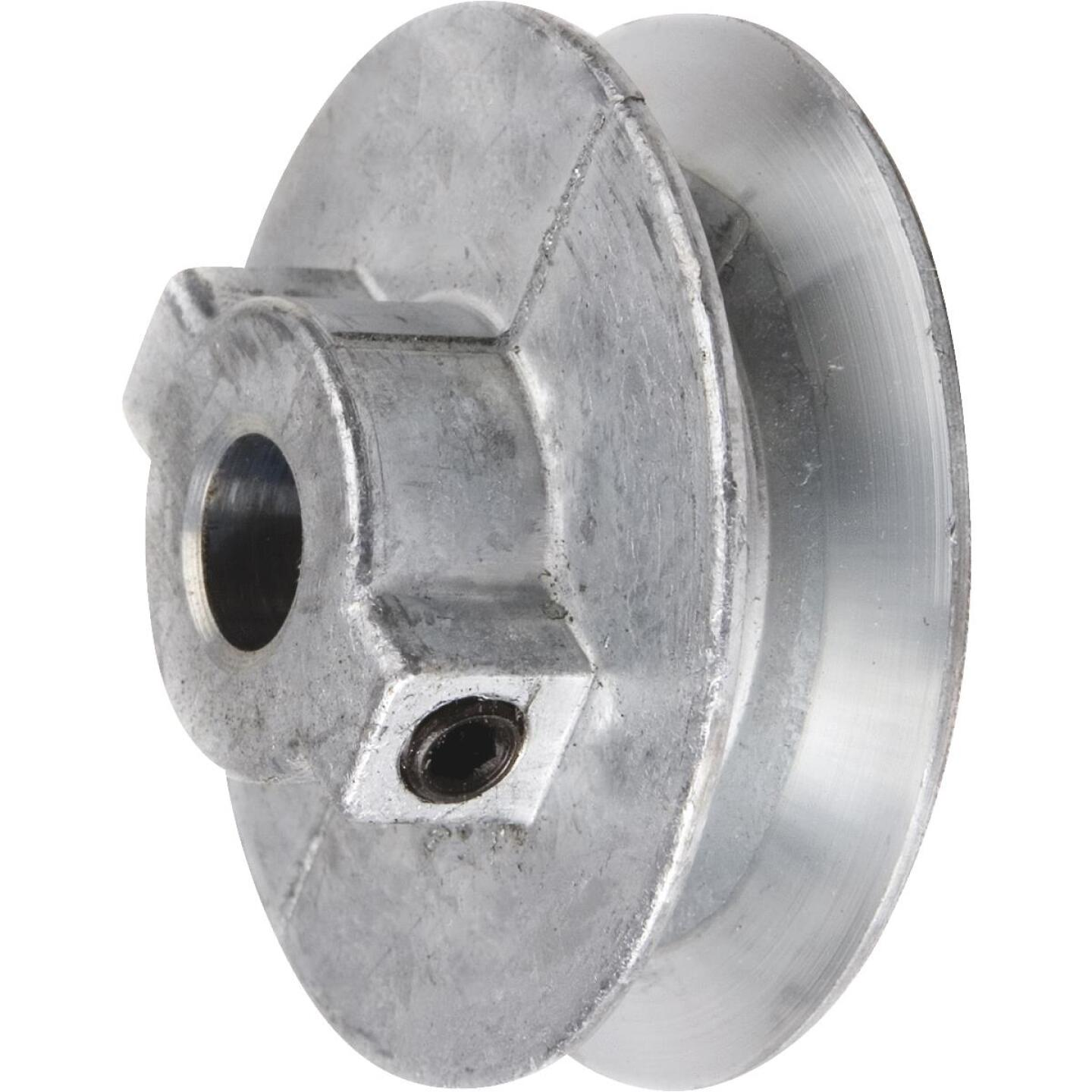 Chicago Die Casting 4 In. x 1/2 In. Single Groove Pulley Image 1