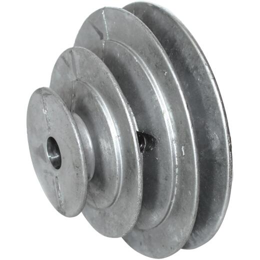 Chicago Die Casting 3/4 In. 3-Step Cone Pulley