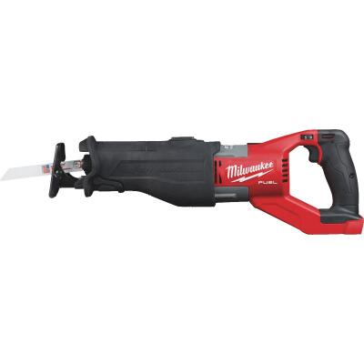 Milwaukee Super Sawzall M18 FUEL 18 Volt Lithium-Ion Brushless Cordless Reciprocating Saw (Bare Tool)