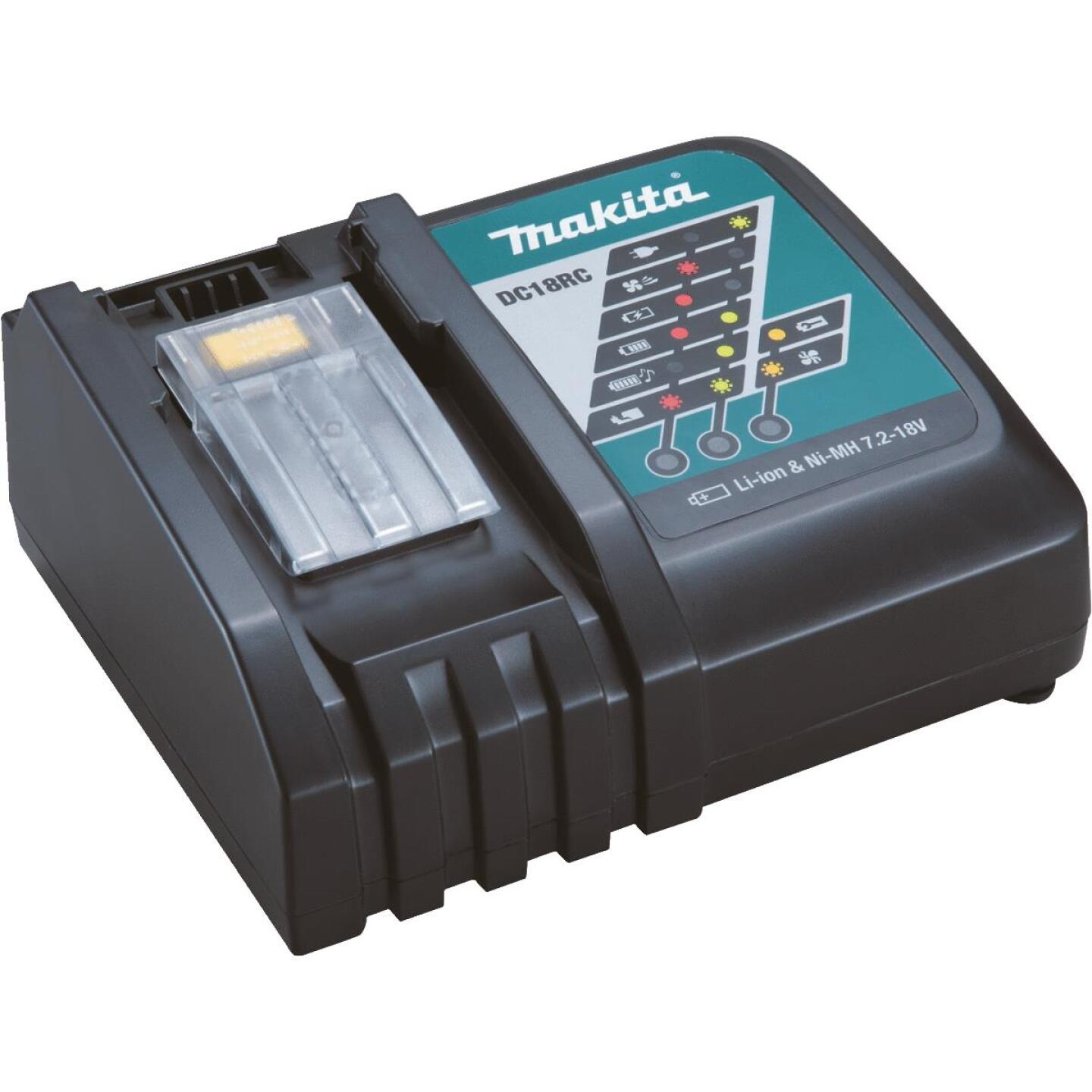 Makita 18 Volt LXT Lithium-Ion Rapid Optimum Battery Charger Image 1