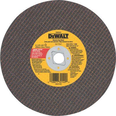 DeWalt HP Type 1, 8 In. Cut-Off Wheel