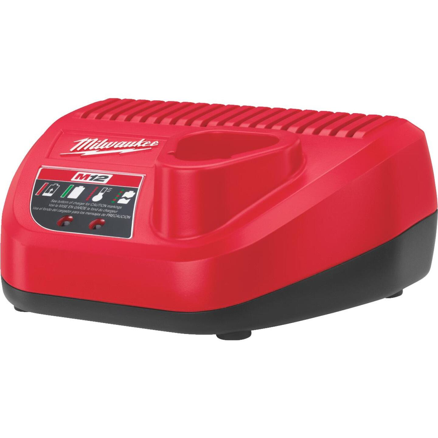 Milwaukee M12 12 Volt Lithium-Ion Battery Charger Image 3