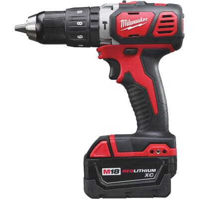 Milwaukee M18 XC 18-Volt Lithium-Ion 1/2 In. Cordless Hammer Drill Kit