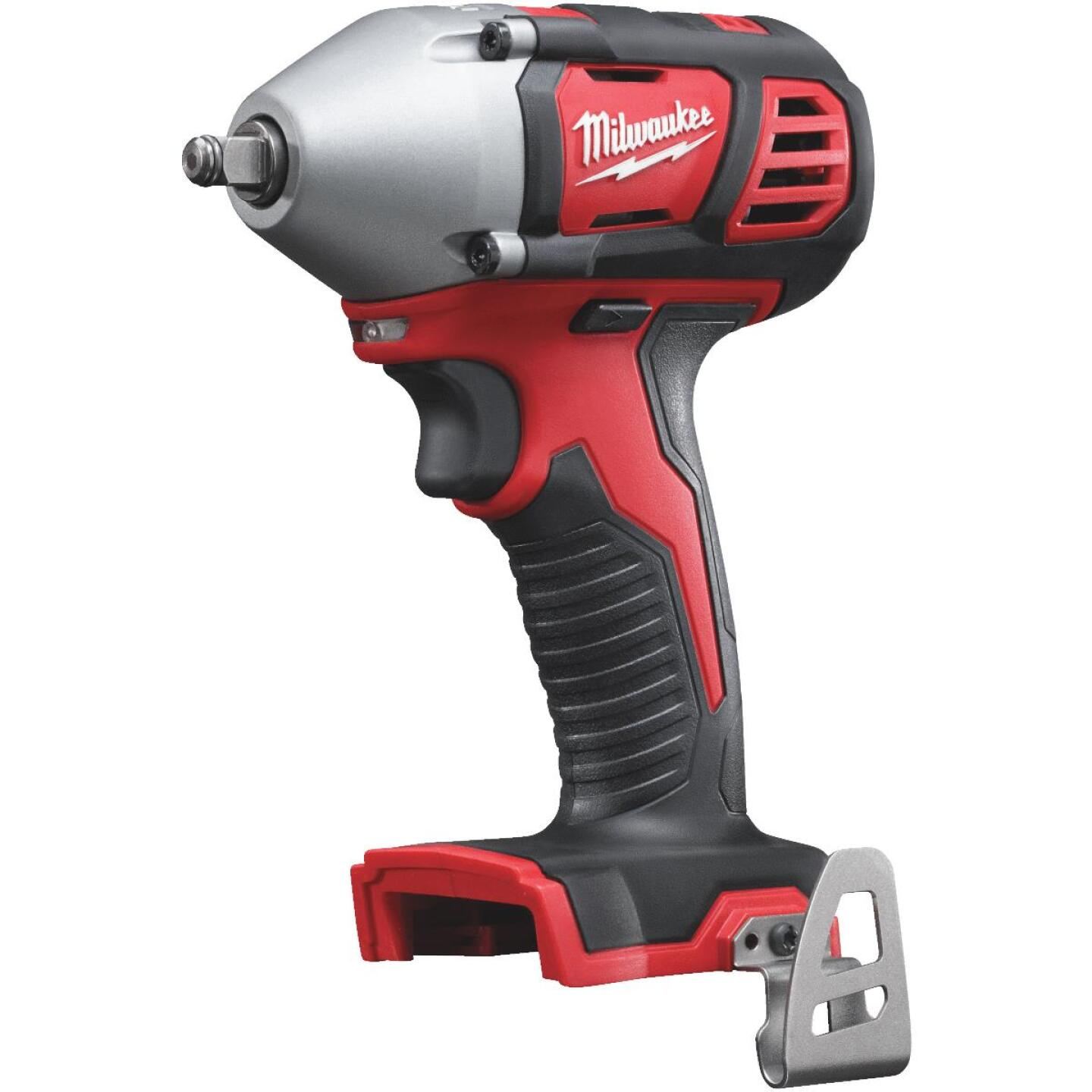 Milwaukee M18 18 Volt Lithium-Ion 3/8 In. Cordless Impact Wrench with Friction Ring (Bare Tool) Image 1