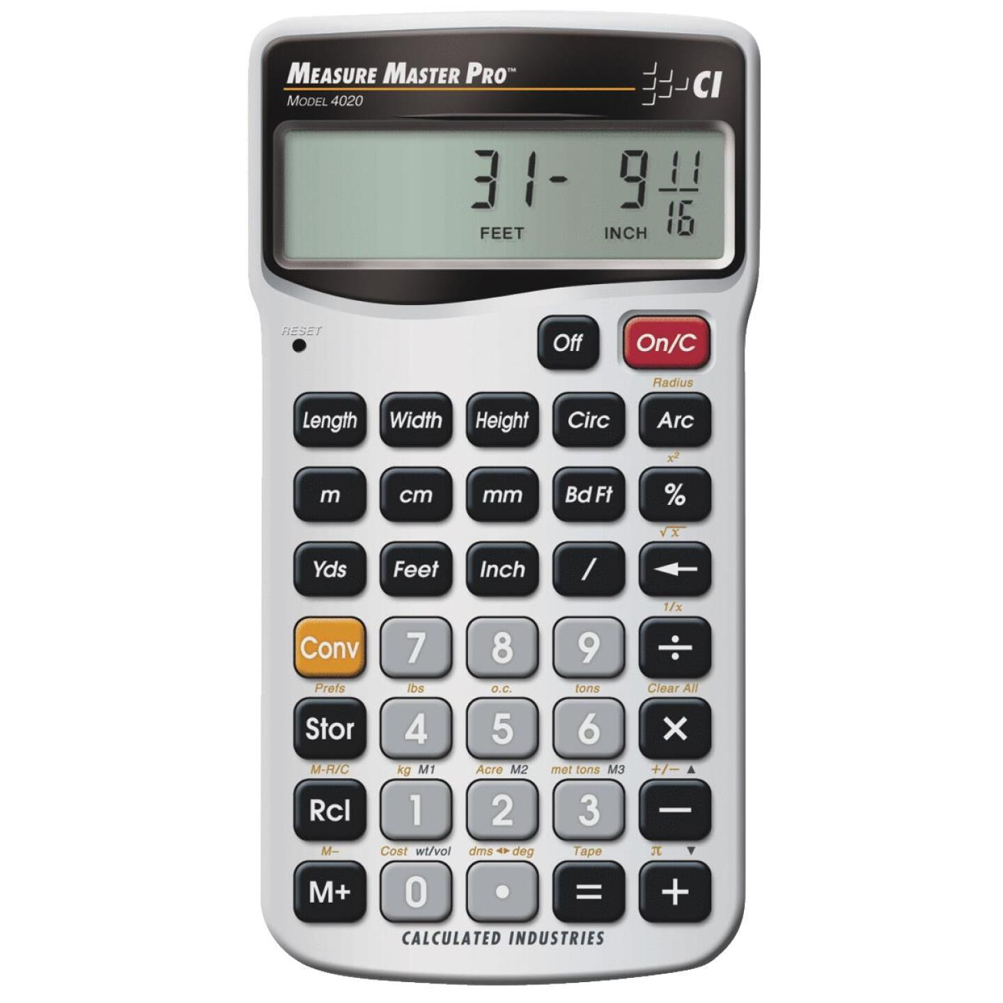 Calculated Industries Measure Master Pro Project Calculator Image 1