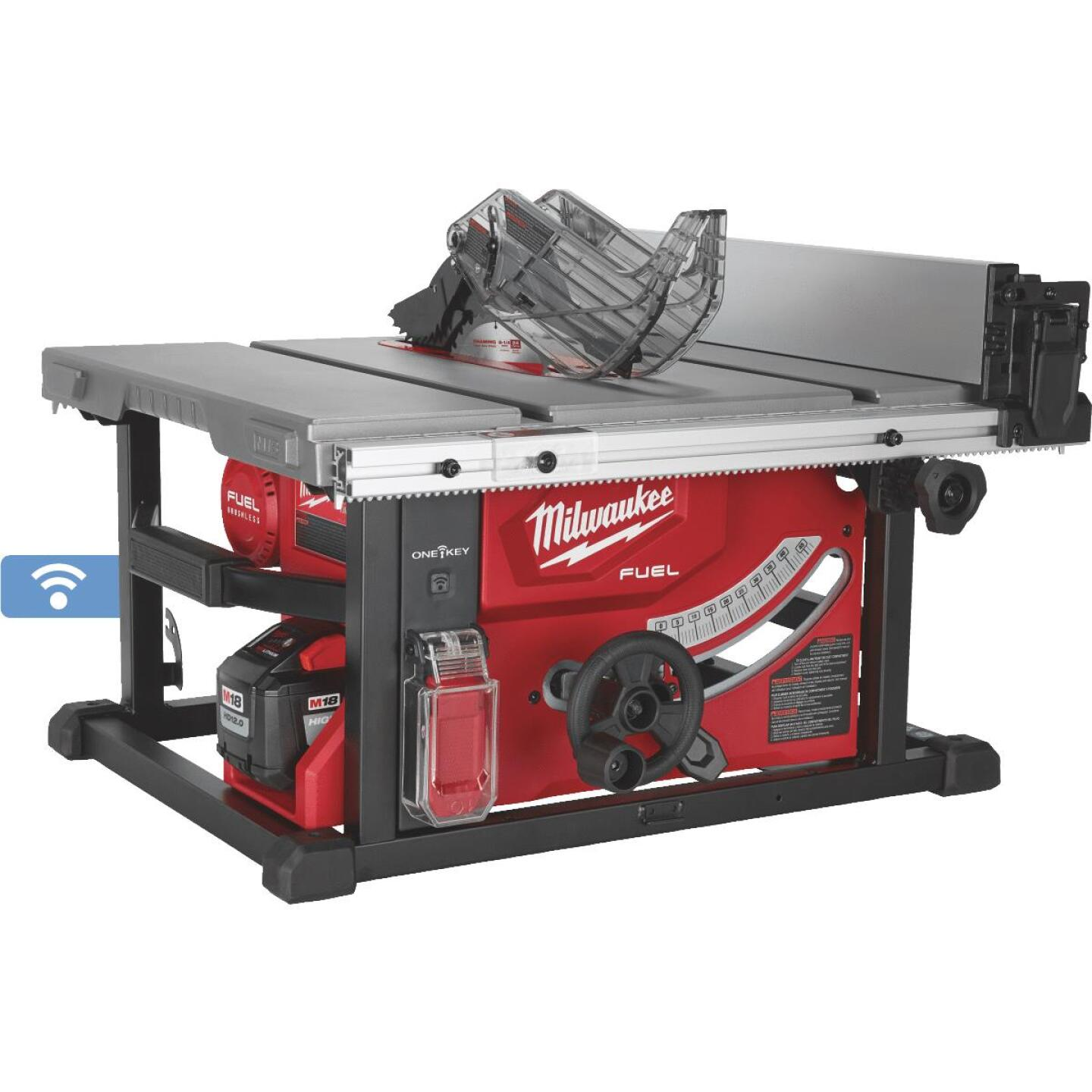 Milwaukee M18 FUEL 18-Volt Lithium-Ion Brushless 8-1/4 In. Cordless Table Saw Kit, ONE-KEY Compatible Image 1