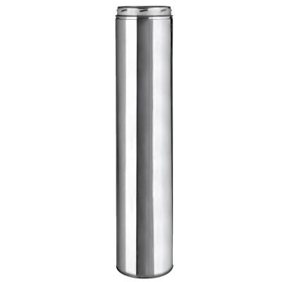 SELKIRK Sure-Temp 6 In. x 18 In. Stainless Steel Insulated Pipe