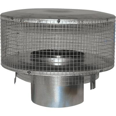 Comfort Flame 8 In. IHP Pipe Chimney Cap with Slip Section for Woodburning Fireplace