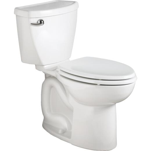 American Standard Cadet 3 Right Height White Elongated Bowl 1.28 GPF Toilet