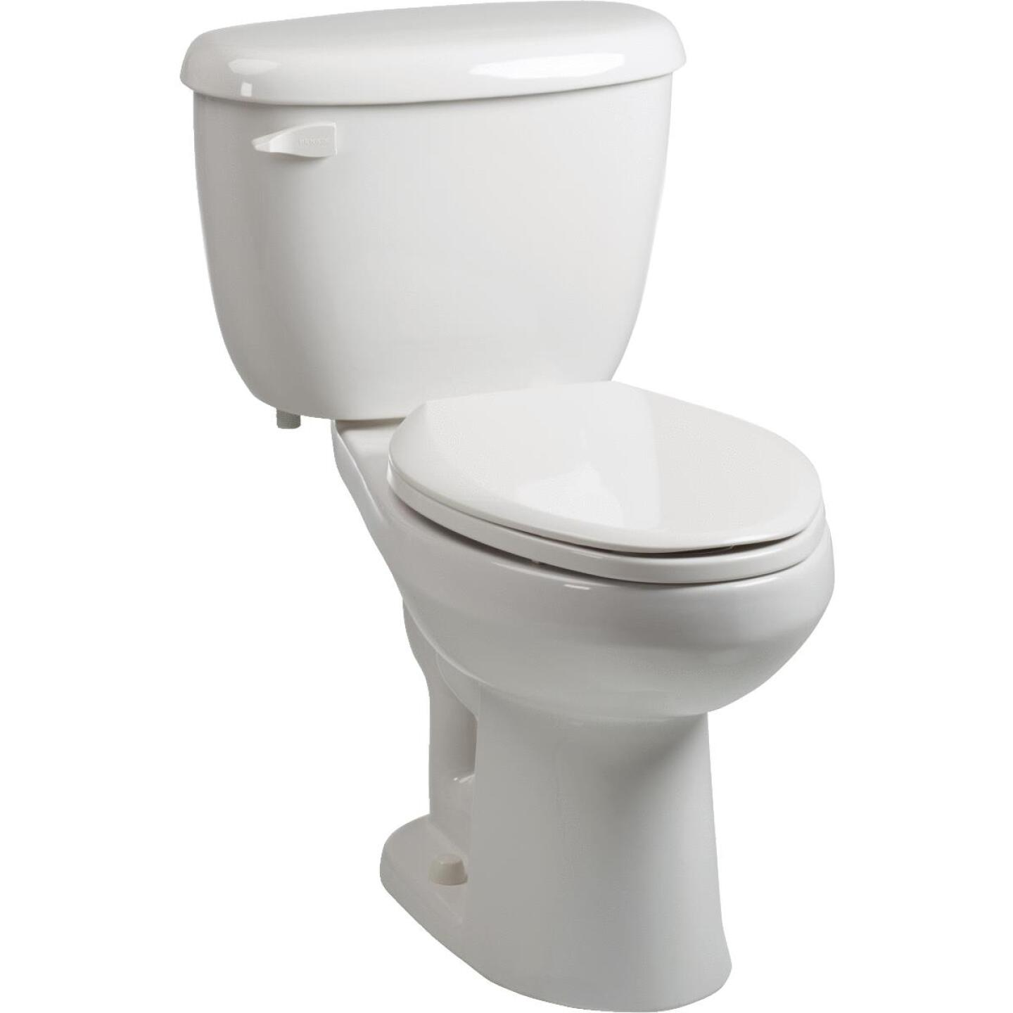 Briggs ComfortFit White Elongated Bowl 1.28 GPF Toilet Express Image 1