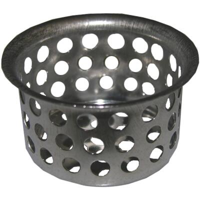 Lasco 1-1/2 In. Chrome Removable Kitchen Strainer Cup