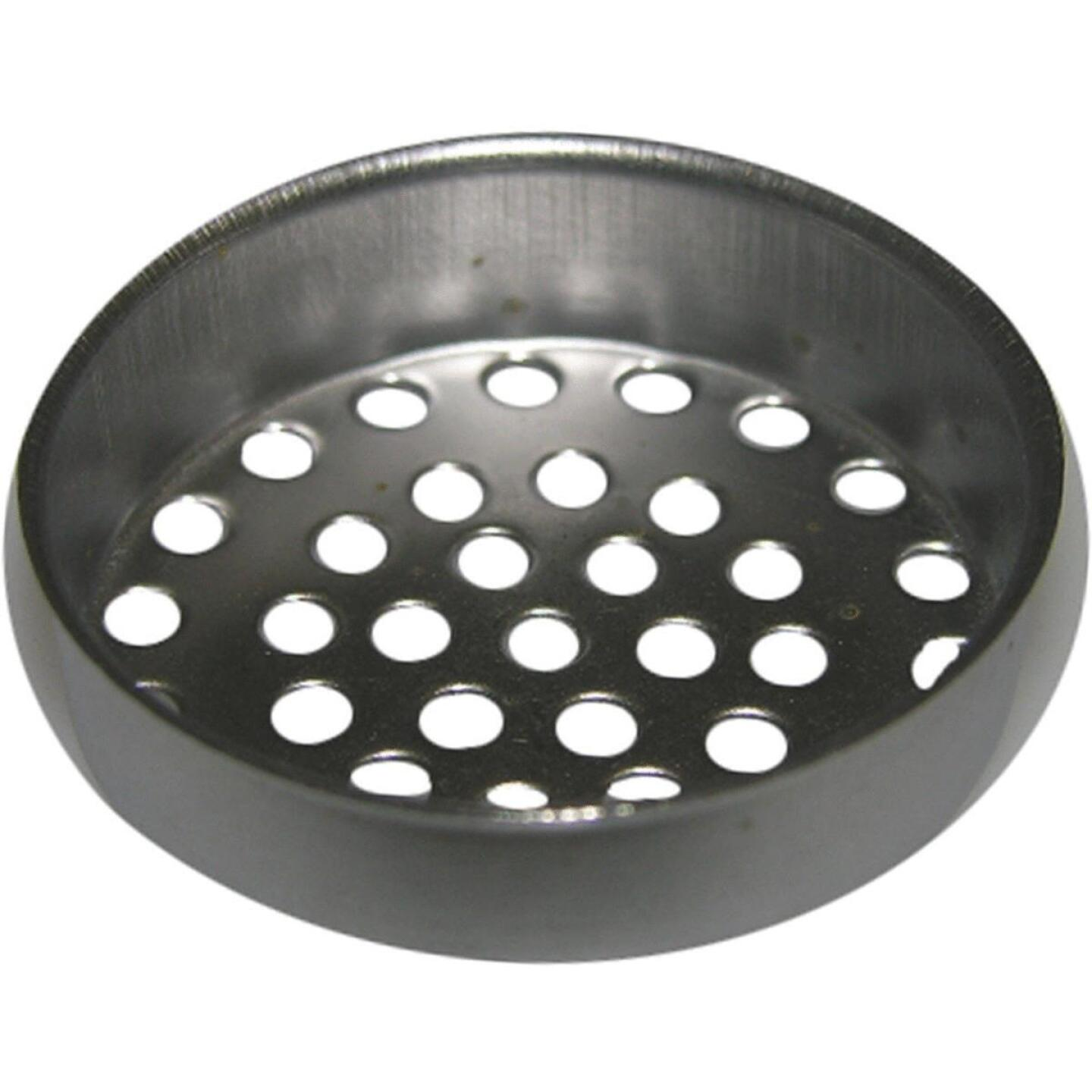 Lasco 1-1/2 In. Chrome Removable Laundry Tray Strainer Cup Image 1