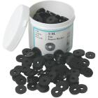 Danco 11/16 In. Black Flat Faucet Washer (200 Ct.) Image 1