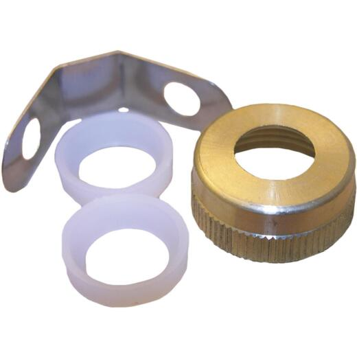 Lasco Horizontal Ball Rod Repair Kit, Brass Nut and Clevis