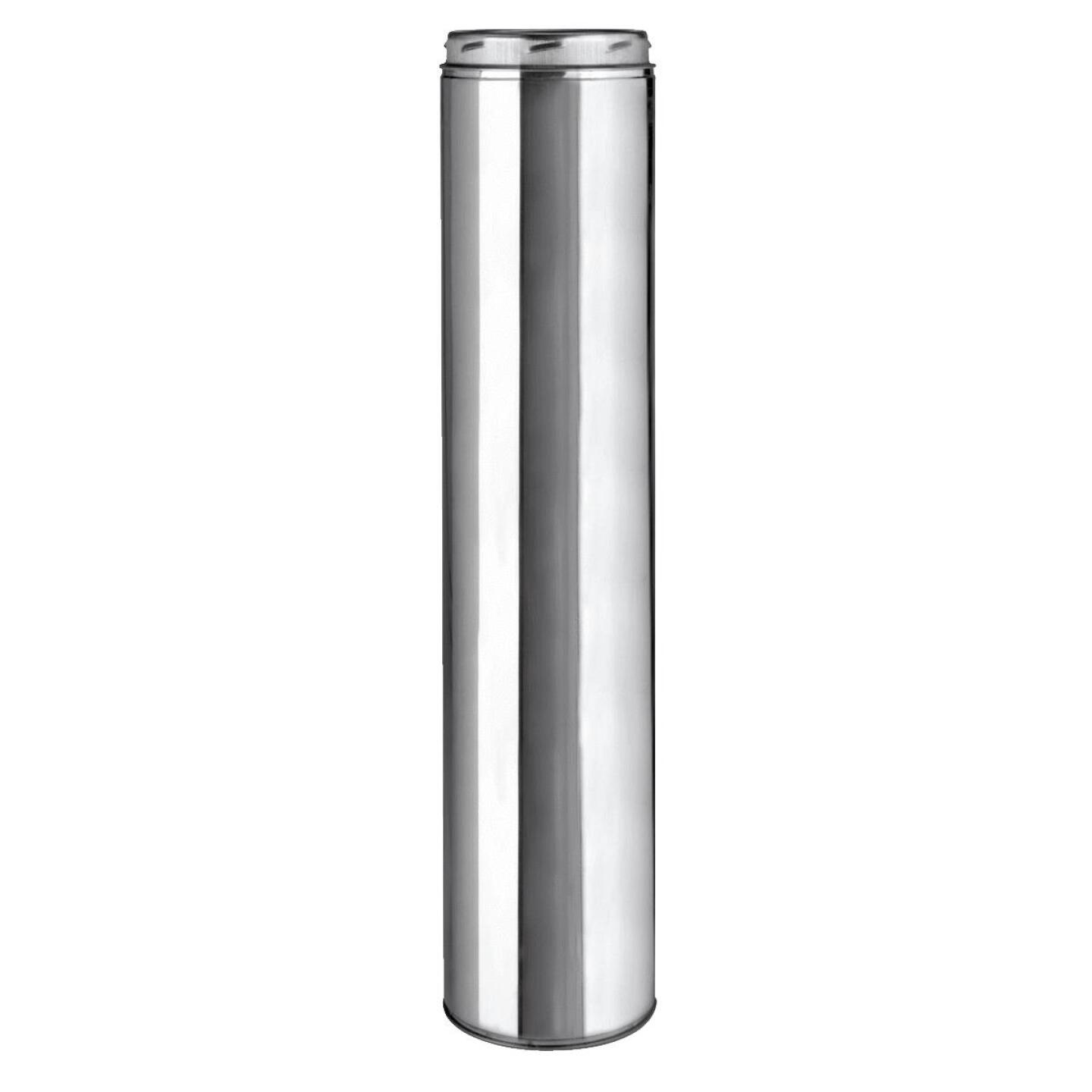 SELKIRK Sure-Temp 8 In. x 36 In. Stainless Steel Insulated Pipe Image 1