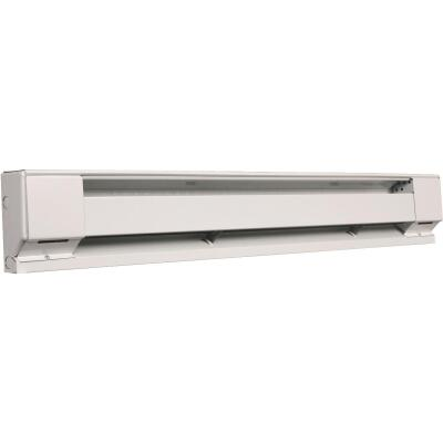 Fahrenheat 24 In. 400-Watt 240-Volt Electric Baseboard Heater, Northern White