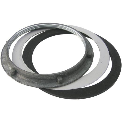 Lasco 4 In. Sink Basket Strainer Nut with Washers
