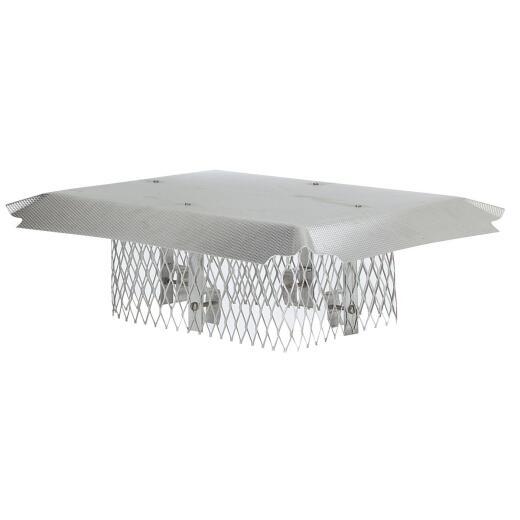 HY-C DuroShield Multi-Fit Aluminum Chimney Cap for Large Flue