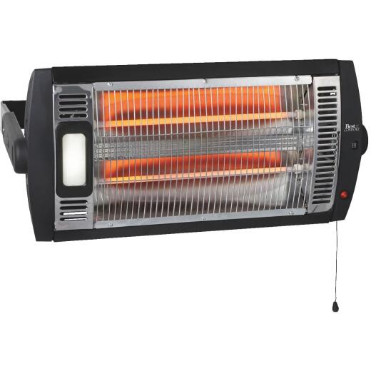 Best Comfort 1500-Watt 120-Volt Garage Quartz Heater