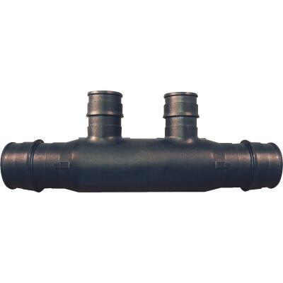 Conbraco PEX - Poly-Alloy Flow Through Manifold Type A 3/4 In. x 2, 1/2 In. Outlets