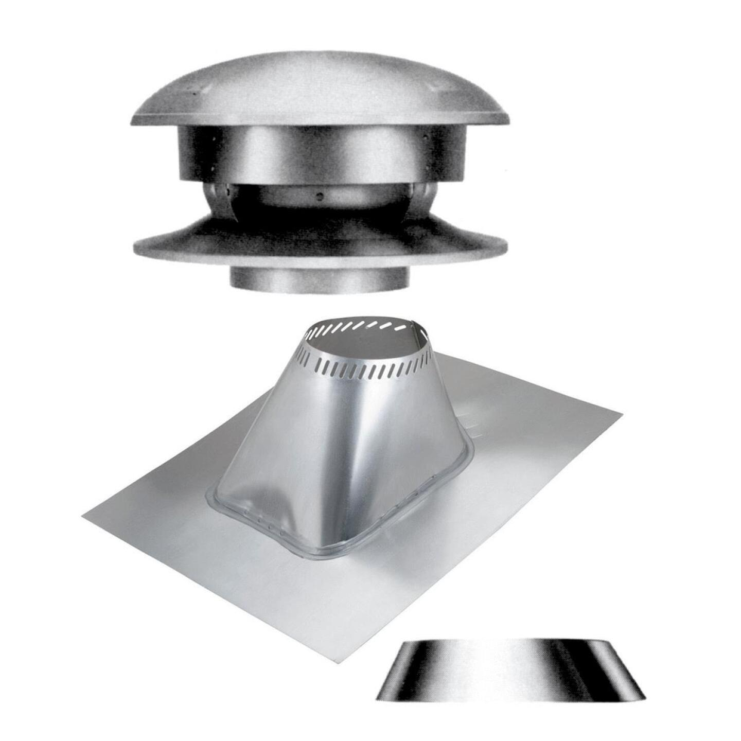 SELKIRK Sure-Temp 8 In. Stainless Steel Round Top Chimney Kit Image 1