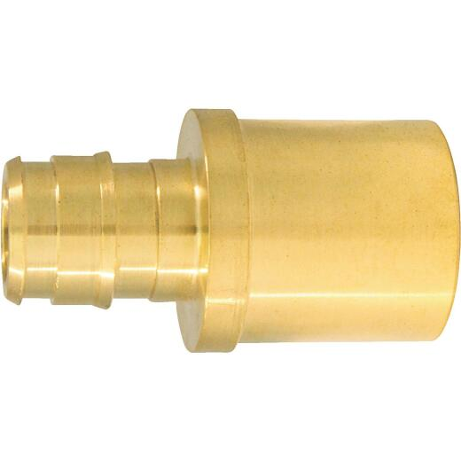Conbraco 1/2 In. x 3/4 In. Brass Insert Fitting MSWT Adapter Type A