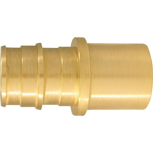 Conbraco 3/4 In. x 3/4 In. Brass Insert Fitting MSWT Adapter Type A