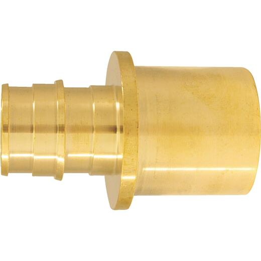 Conbraco 3/4 In. x 1 In. Brass Insert Fitting MSWT Adapter Type A