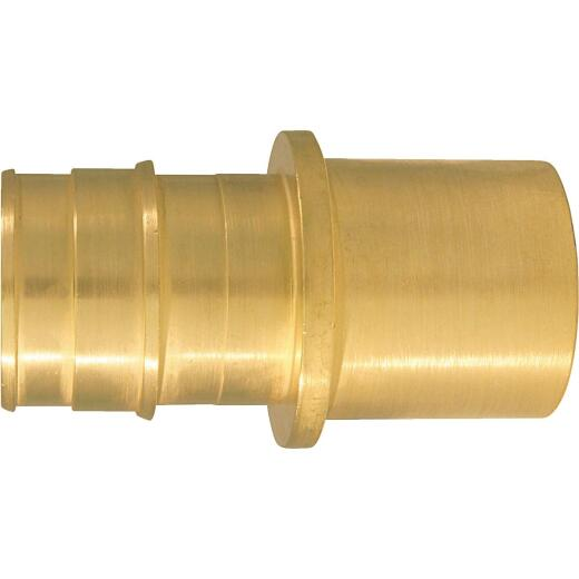 Conbraco 1 In. x 1 In. Brass Insert Fitting MSWT Adapter Type A