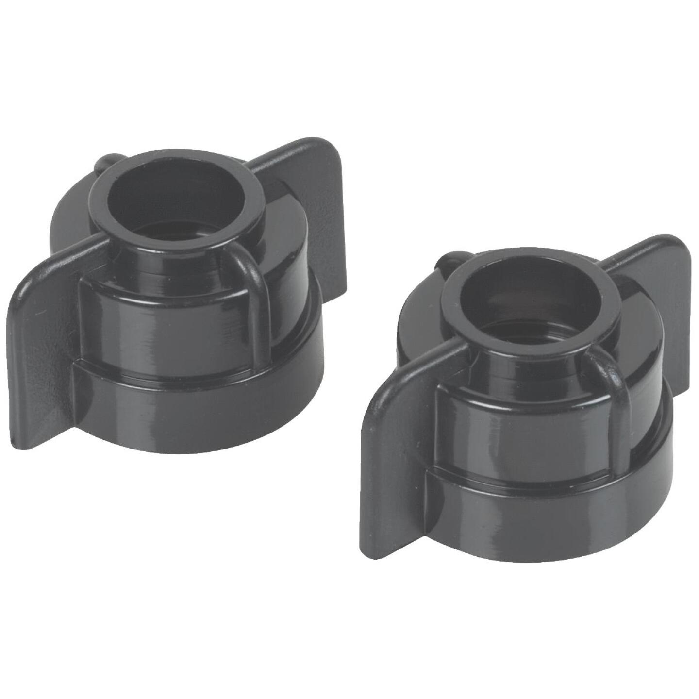 Do it 3/8 In. or 1/2 In. Plastic Basin Faucet Nut (2-Pack) Image 1