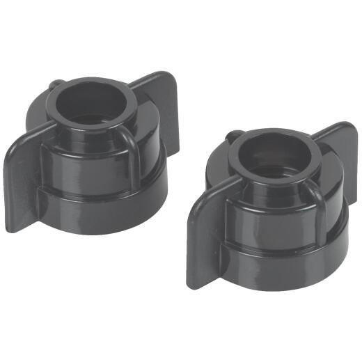 Do it 3/8 In. or 1/2 In. Plastic Basin Faucet Nut (2-Pack)