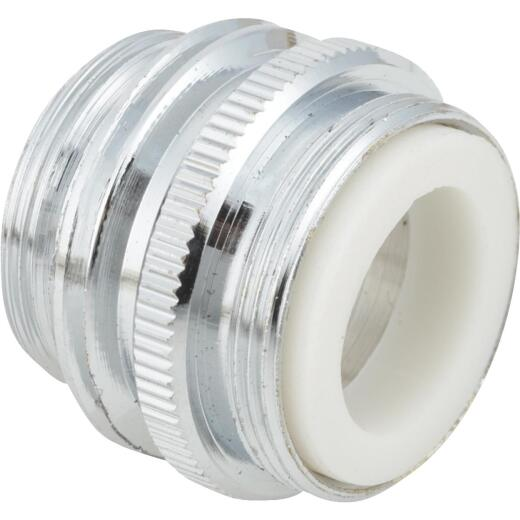"""Do it 15/16"""" Outside or 55/64"""" Inside to 3/4"""" Dual Thread Faucet Adapter, Low Lead"""