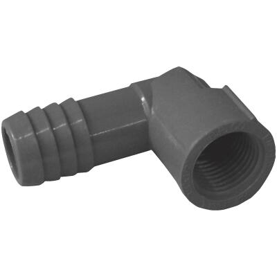 Boshart 3/4 In. x 1/2 In. FIP Reducing Polypropylene Insert Elbow