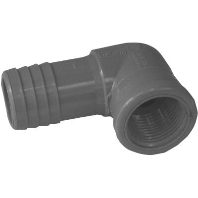 Boshart 1 In. x 3/4 In. FIP Reducing Polypropylene Insert Elbow