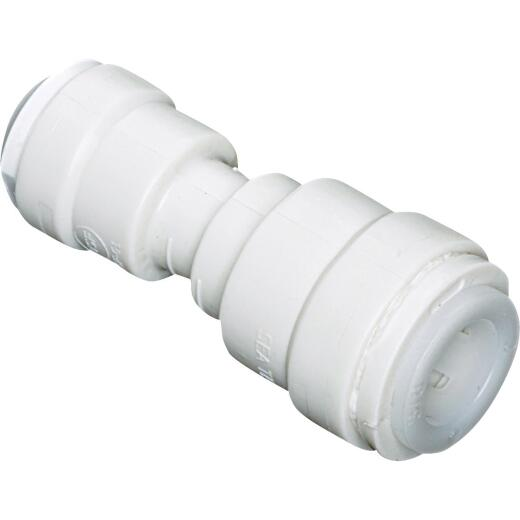 Watts 1/2 In. x 3/8 In. OD Tubing Quick Connect Plastic Coupling