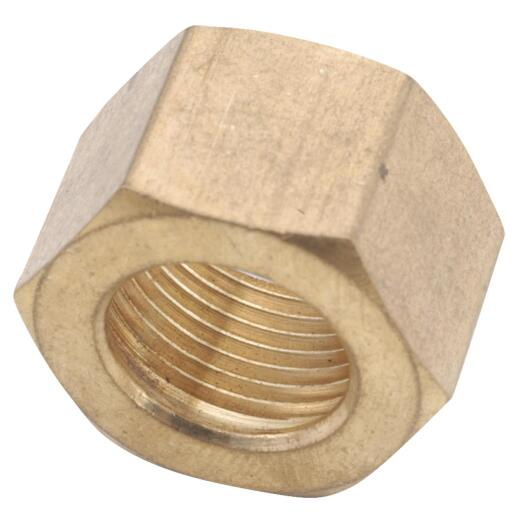 Anderson Metals 5/16 In. Brass Compression Nut (3-Pack)