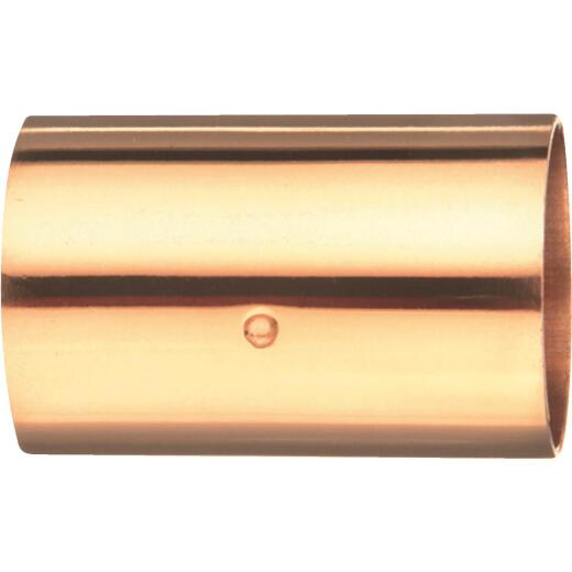 Mueller Streamline 1-1/2 In. x 1-1/2 In. Copper Coupling with Stop