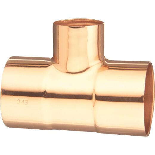 Mueller Streamline 1/2 In. x 1/2 In. x 3/4 In. CxCxC Reducing Copper Tee