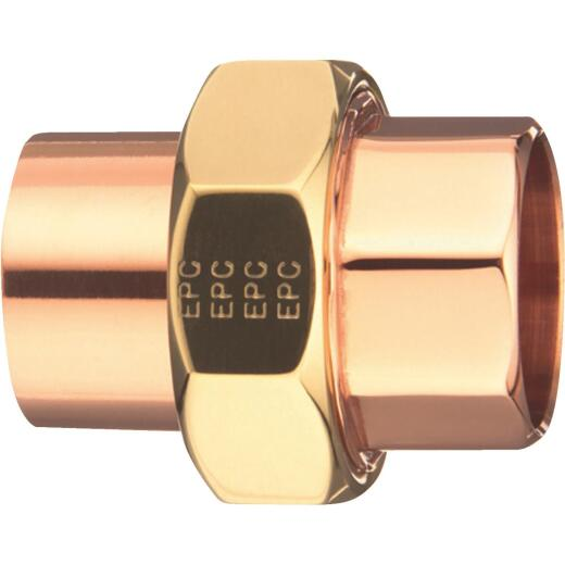 Mueller Streamline 3/4 In. C x C Solder-Joint Copper Union