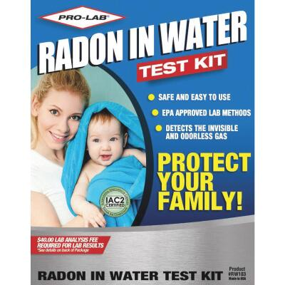 Pro Lab Drinking Water Radon Test Kit