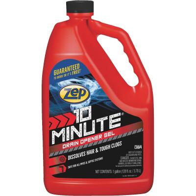 Zep Commercial 128 Oz. Gel 10 Minute Drain Cleaner