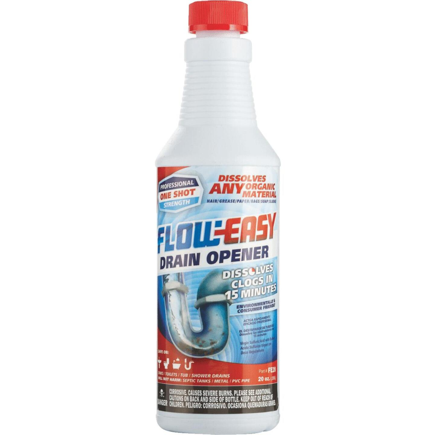 Flow-Easy 20 Oz. Liquid Drain Opener Image 1