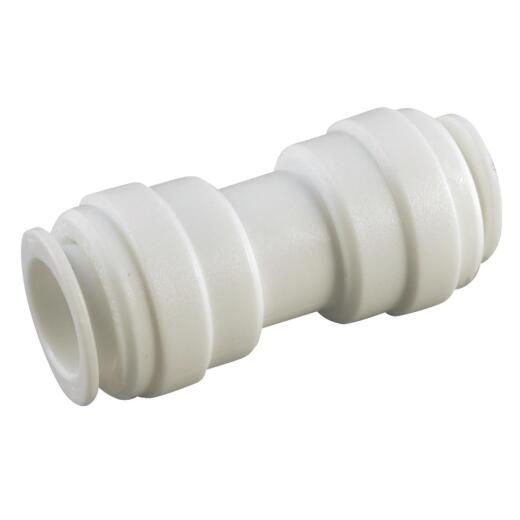 Anderson Metals 5/8 In. x 5/8 In. Push-In Plastic Coupling