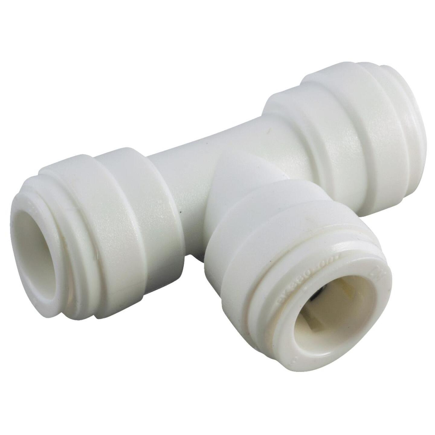 Anderson Metals 5/8 In. x 5/8 In. x 5/8 In. Push-In Plastic Tee Image 1